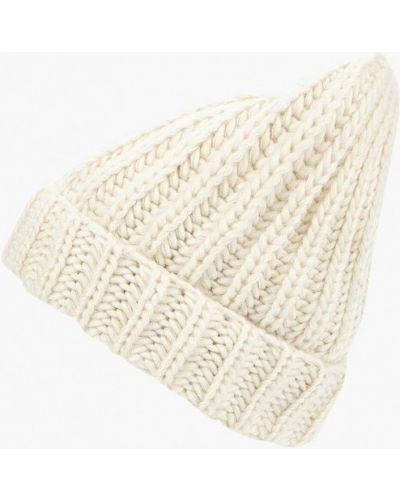 Белая шапка осенняя Zarina