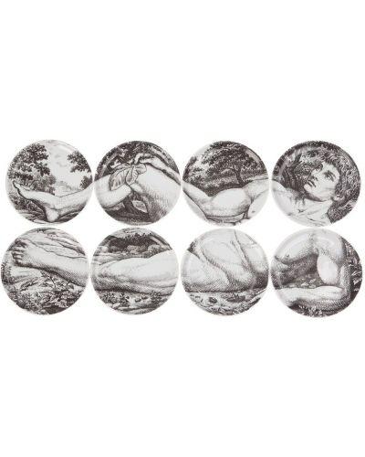 Маникюрный набор белый Fornasetti