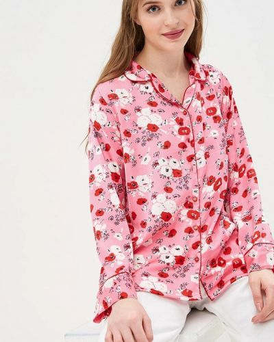 Блузка с длинным рукавом розовая индийский Compania Fantastica