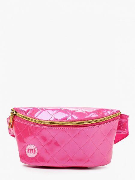 Поясная сумка - розовая Mi-pac