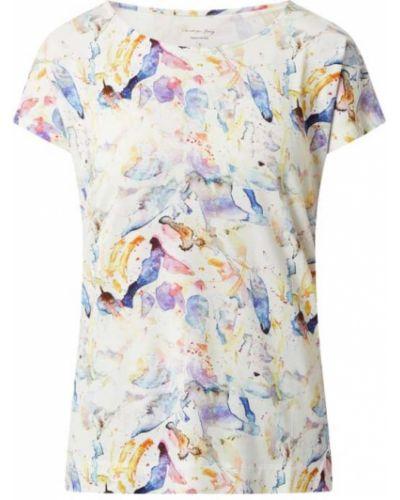 Biała bluzka z wiskozy Christian Berg Women
