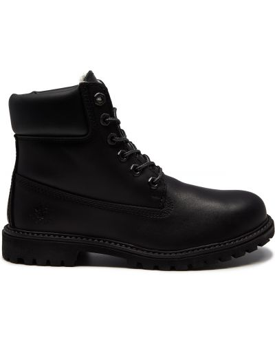 Кожаные ботинки кожаные Lumberjack