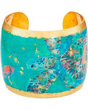 Zielona złota bransoletka ze złota Evocateur