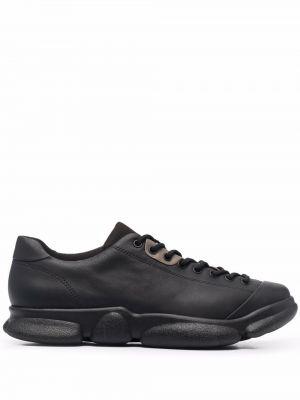 Черные кожаные кроссовки Camper