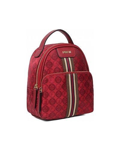 Текстильная красная сумка Fabretti