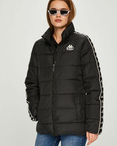 Утепленная куртка укороченная прямая Kappa
