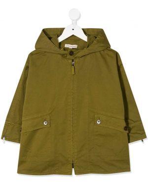 Płaszcz przeciwdeszczowy - zielony Caramel