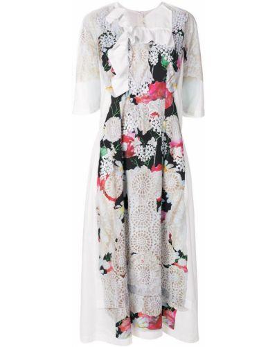 Платье с цветочным принтом с принтом Comme Des Garçons Comme Des Garçons