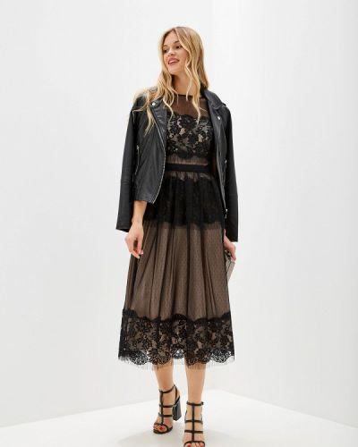 Вечернее платье польское черное Genevie