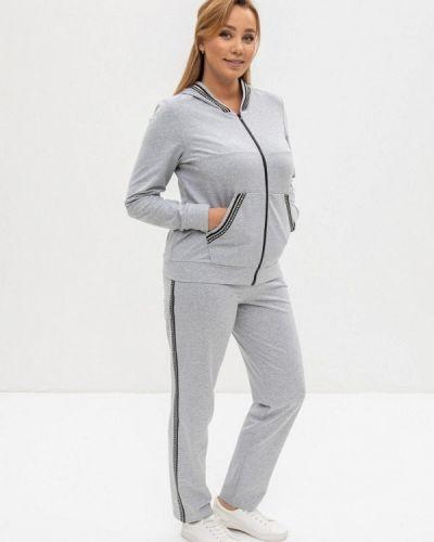 Костюмный серый спортивный костюм Cleo