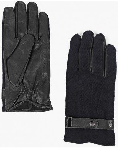 Кожаные перчатки Topman