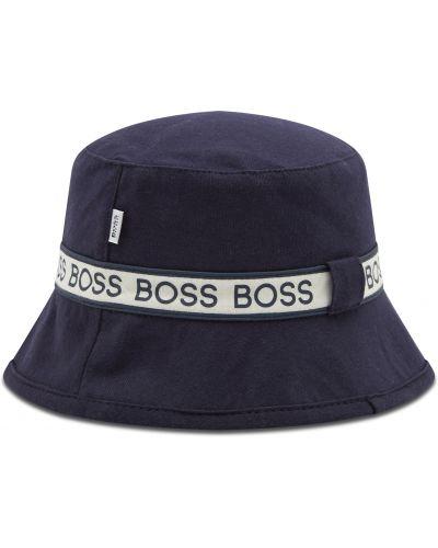 Czapka granatowa Boss