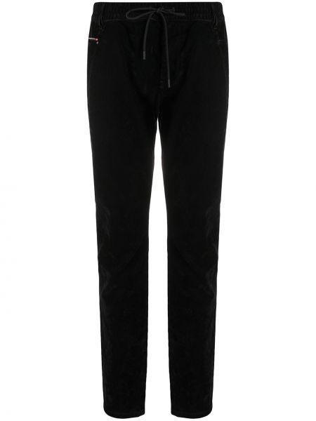 Bawełna bawełna czarny jeansy chłopaki z kieszeniami Diesel