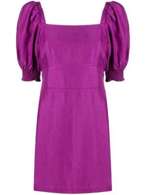 Пышное платье - фиолетовое Ba&sh