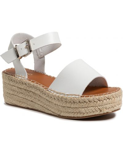 Sandały espadryle - białe Aldo
