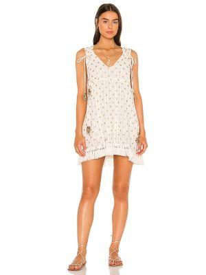 Белое хлопковое платье Sundress