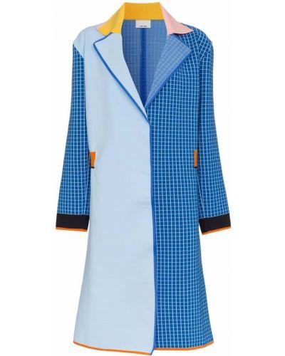 Синее пальто с капюшоном I-am-chen