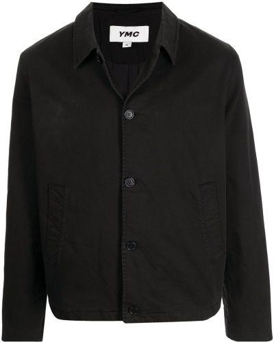 Czarna klasyczna kurtka Ymc