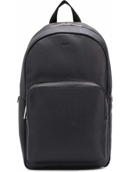 Кожаная сумка - черная Boss Hugo Boss