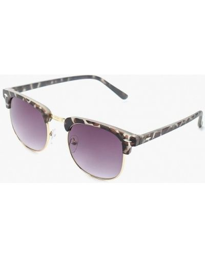 Солнцезащитные очки хаки Modis