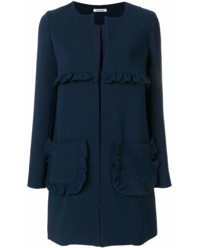 Длинное пальто прямое с карманами P.a.r.o.s.h.