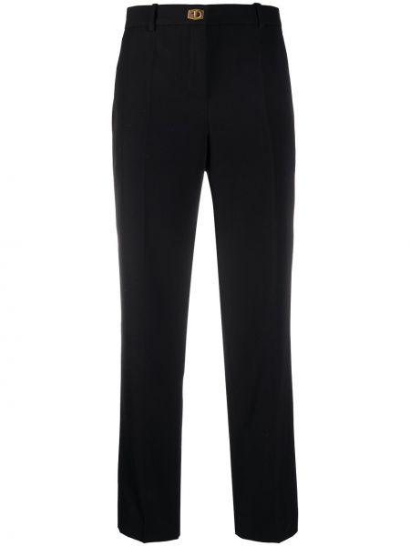 Bawełna spodni przycięte spodnie z kieszeniami z wiskozy Givenchy