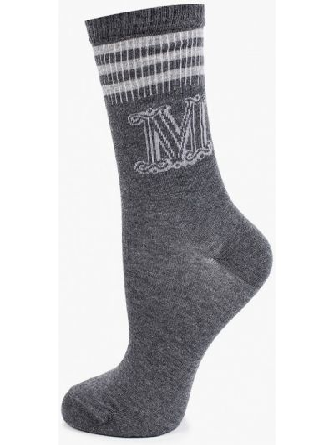 Серые зимние носки Max Mara Leisure