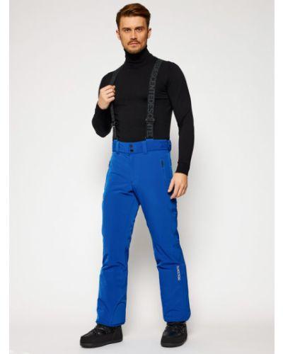 Niebieskie spodnie Descente