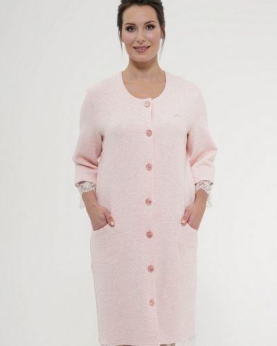 Розовый халат домашний Cleo