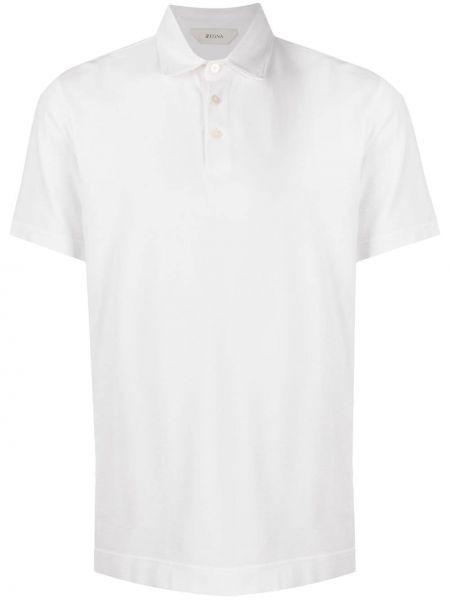 Koszula krótkie z krótkim rękawem klasyczna prosto Z Zegna