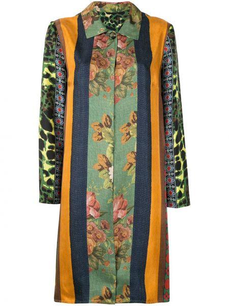 Однобортное пальто классическое с капюшоном с воротником Pierre-louis Mascia