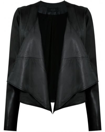Черная длинная куртка Clé