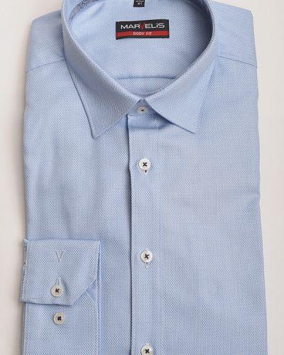 Хлопковая рубашка с длинными рукавами Marvelis