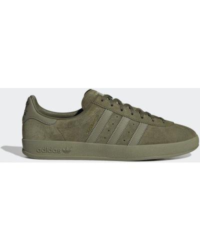 Зеленые кроссовки винтажные Adidas