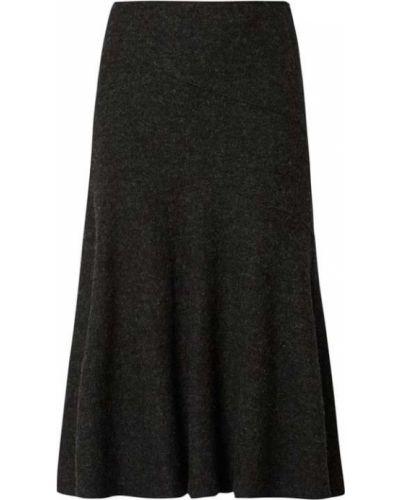 Długa spódnica wełniana Christian Berg Women