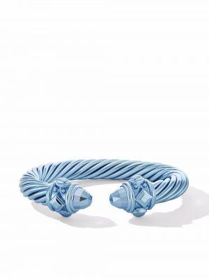 Niebieska bransoletka David Yurman