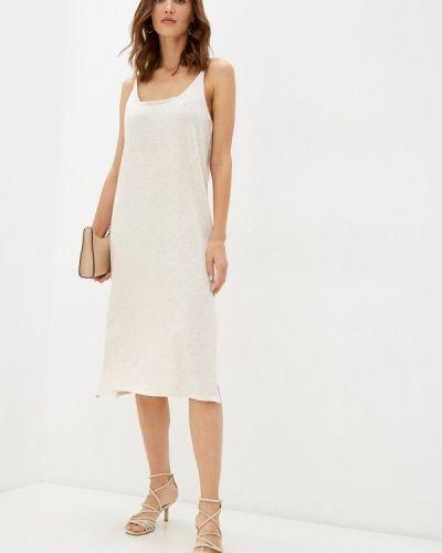 Бежевое платье летнее Zibi London