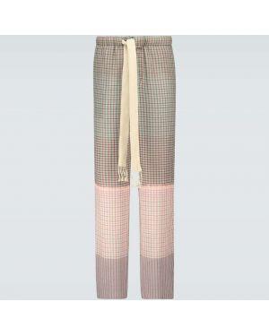 Spodnie na gumce szeroki luźne Loewe