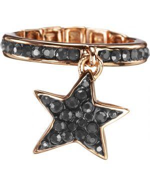 Черное кольцо Guess