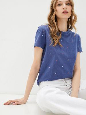 Синяя футболка с короткими рукавами Gap