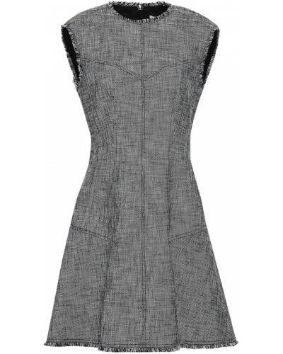 Czarna sukienka mini rozkloszowana bez rękawów Rebecca Taylor