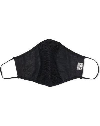 С ремешком черная маска для лица с сеткой C.p. Company