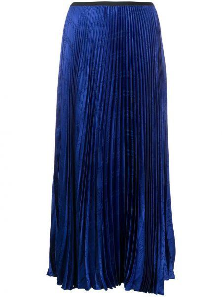 Плиссированная юбка миди со вставками Federica Tosi