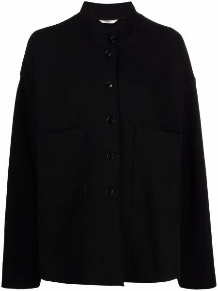 Шерстяная рубашка - черная Barena