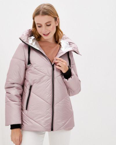 Теплая розовая куртка Dixi Coat