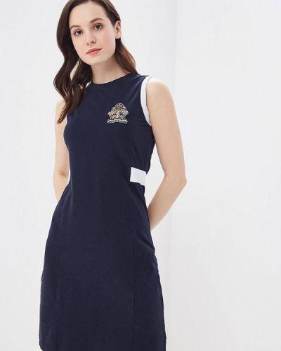 Платье весеннее синее Galvanni