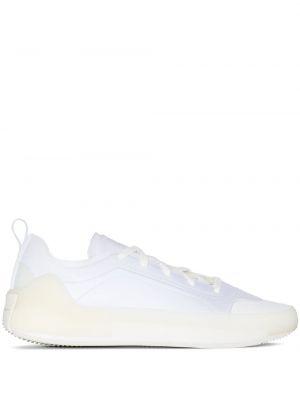 Белые кроссовки на шнуровке с нашивками Adidas By Stella Mccartney