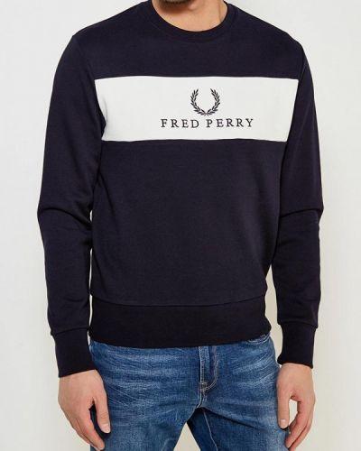 Синяя толстовка Fred Perry
