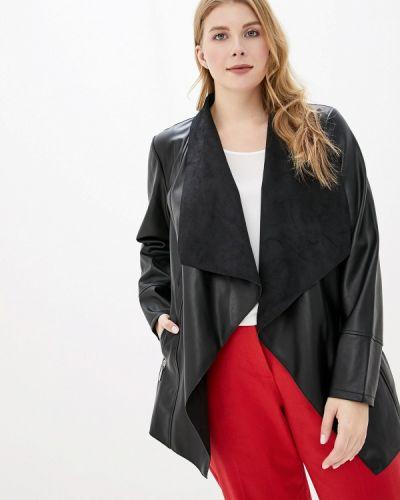 Кожаная куртка черная осенняя Evans