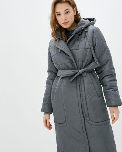 Утепленная серая куртка D`imma